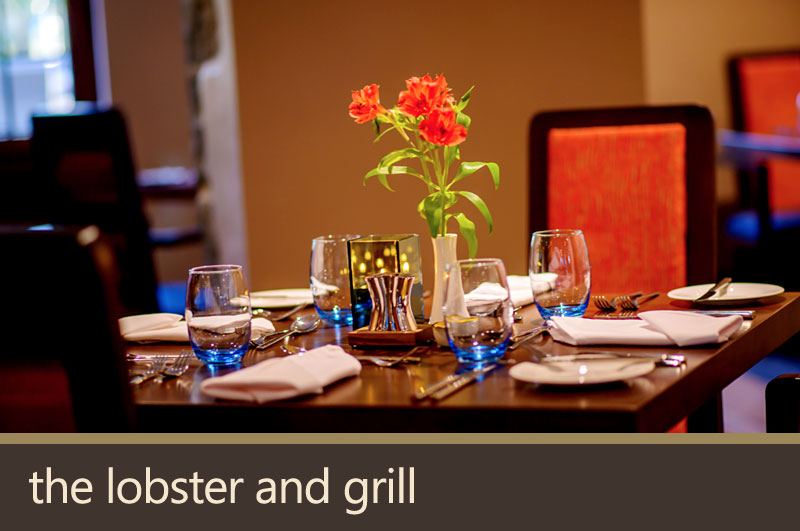 Lobster and Grill restaurant.